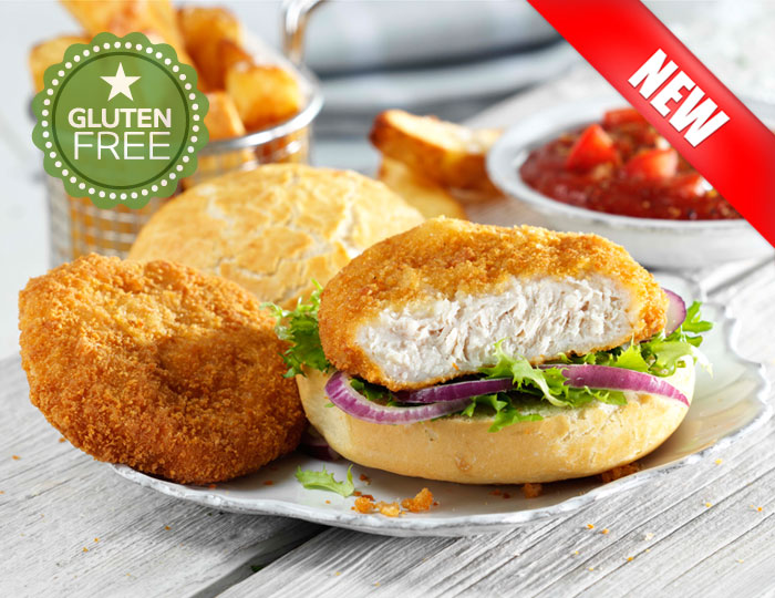 how to make a chicken fillet burger