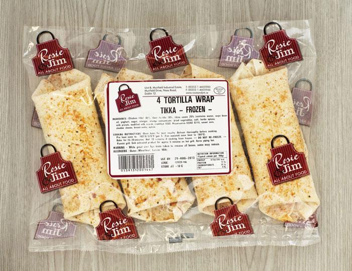 Tikka Chicken Wrap Bag