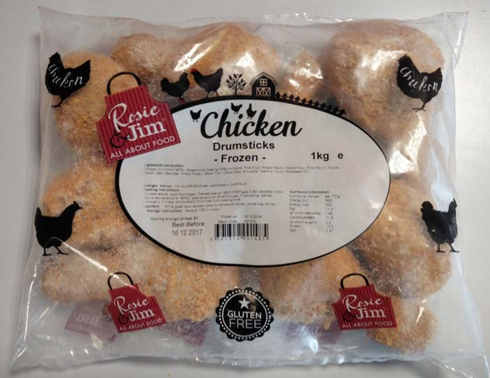 Rosie & Jim Chicken Drumsticks