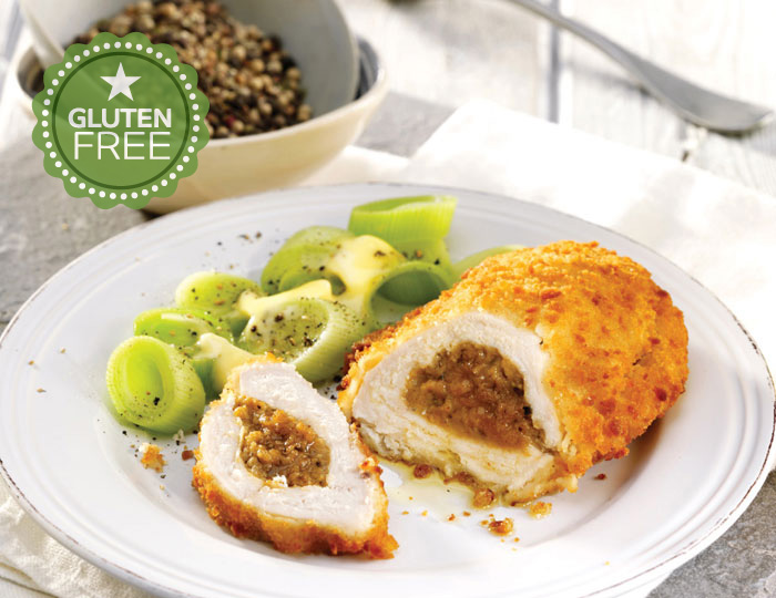 Creamy Peppercorn Chicken Kiev