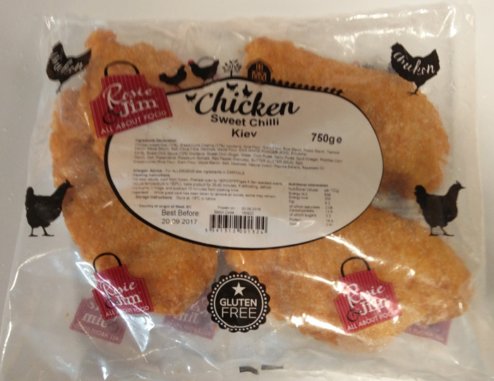 Rosie & Jim Sweet Chilli Kiev